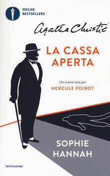 La cassa aperta. Un nuovo caso per Hercule Poirot - Sophie Hannah,Agatha Christie® - copertina