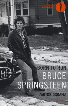 Born to run - Bruce Springsteen - copertina