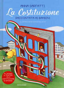 Vitalitart.it La Costituzione raccontata ai bambini. Con Poster Image