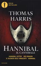 Libro Hannibal il cannibale: Hannibar Lecter-Red Dargon-Il silenzio degli innocenti-Hannibal Thomas Harris