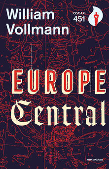 Europe central - William T. Vollmann - copertina