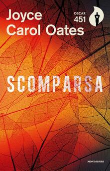 Scomparsa - Joyce Carol Oates - copertina