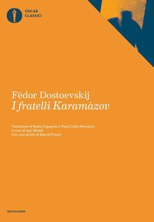 I fratelli Karamazov - Fëdor Dostoevskij - copertina