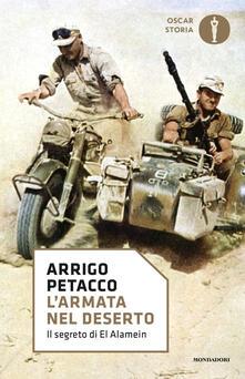 L' armata nel deserto. Il segreto di El Alamein - Arrigo Petacco - copertina