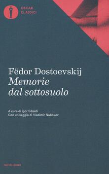 Memorie dal sottosuolo - Fëdor Dostoevskij - copertina