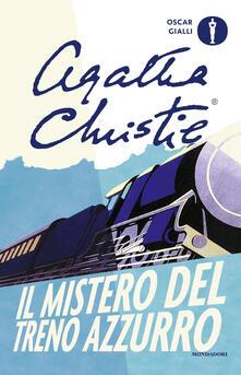 Il mistero del Treno Azzurro - Agatha Christie - copertina