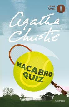 Macabro quiz - Agatha Christie - copertina