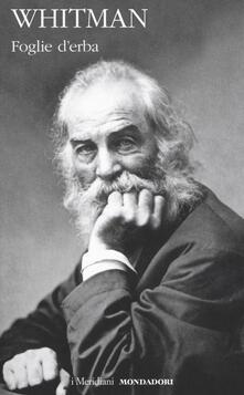 Foglie d'erba. Testo inglese a fronte. Ediz. bilingue - Walt Whitman - copertina