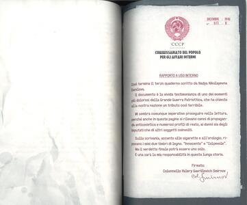 La sfolgorante luce di due stelle rosse. Il caso dei quaderni di Viktor e Nadya - Davide Morosinotto - 4