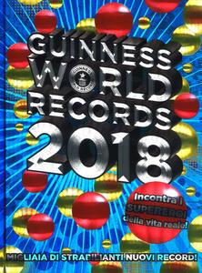 Guinness World Records 2018 - copertina