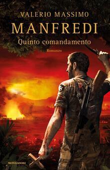 Quinto comandamento - Valerio Massimo Manfredi - copertina