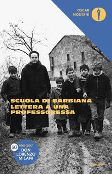 Lettera a una professoressa - Lorenzo Milani - copertina