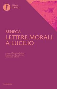 Lettere morali a Lucilio - Lucio Anneo Seneca - copertina