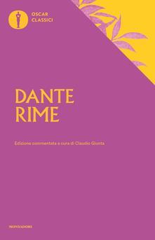 Grandtoureventi.it Rime. Ediz. commentata Image