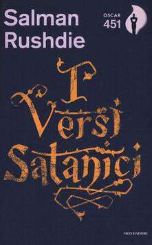 I versi satanici. Con Segnalibro - Salman Rushdie - copertina