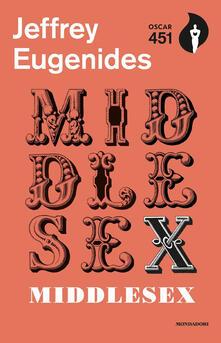 Middlesex - Jeffrey Eugenides - copertina