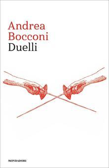 Duelli - Andrea Bocconi - copertina