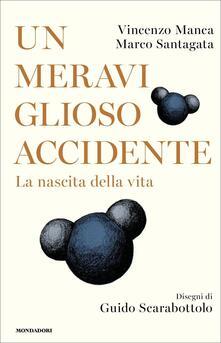 Un meraviglioso accidente. La nascita della vita - Vincenzo Manca,Marco Santagata - copertina