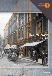 Ulisse - James Joyce - copertina