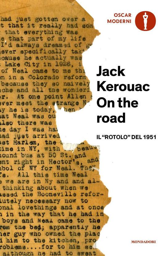 On the road. Il «rotolo» del 1951 - Jack Kerouac - copertina