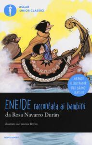 Eneide raccontata ai bambini - Rosa Navarro Durán - copertina