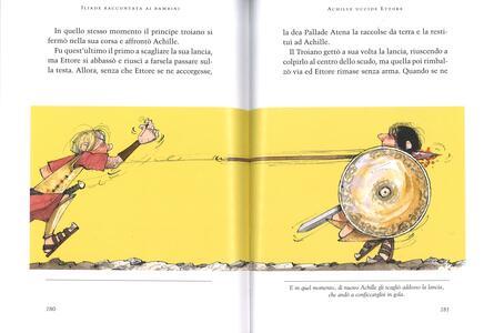 Iliade raccontata ai bambini. Ediz. a colori - Rosa Navarro Durán - 4