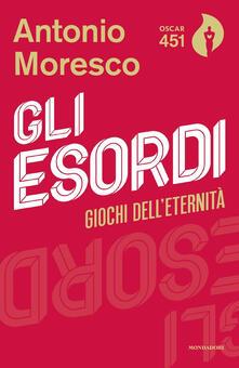 Gli esordi - Antonio Moresco - copertina