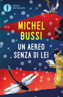 Un aereo senza di lei - Michel Bussi - copertina