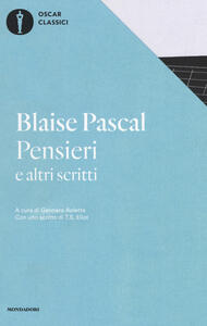 Pensieri e altri scritti - Blaise Pascal - copertina
