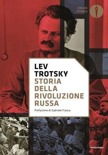 Storia della rivoluzione russa - Lev Trotsky - copertina