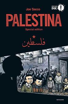 Palestina - Joe Sacco - copertina