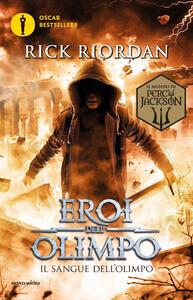 Il sangue dell'Olimpo. Eroi dell'Olimpo. Vol. 5 - Rick Riordan - copertina