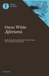 Aforismi - Oscar Wilde - copertina