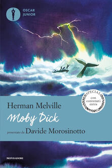 Moby Dick - Herman Melville - copertina