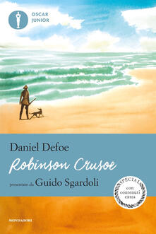 Robinson Crusoe - Daniel Defoe - copertina