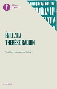 Therese Raquin - Émile Zola - copertina