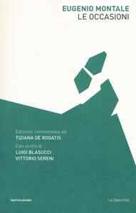 Le occasioni - Eugenio Montale - copertina