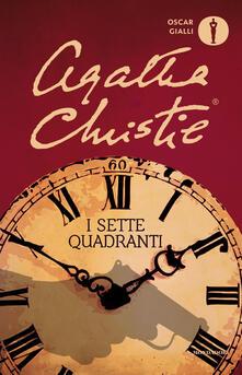 I sette quadranti - Agatha Christie - copertina