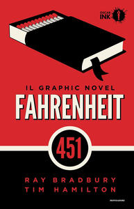 Fahrenheit 451 - Ray Bradbury,Tim Hamilton - copertina