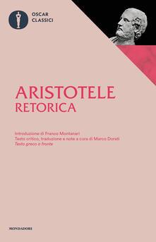 Retorica. Testo greco a fronte - Aristotele - copertina
