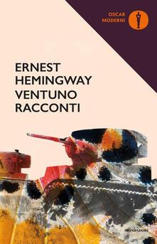 Ventuno racconti - Ernest Hemingway - copertina