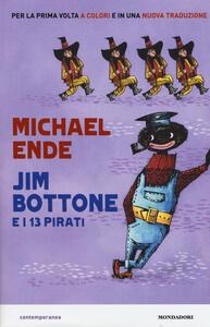 Jim Bottone e i 13 pirati - Michael Ende - copertina