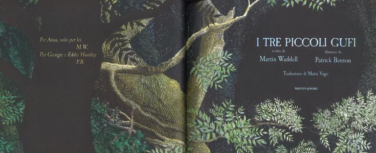 I tre piccoli gufi. Ediz. a colori - Martin Waddell,Patrick Benson - 2