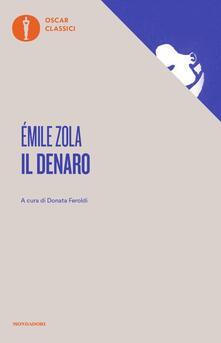 Il denaro - Émile Zola - copertina