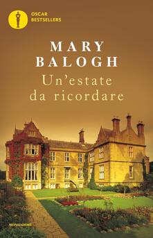 Un' estate da ricordare - Mary Balogh - copertina