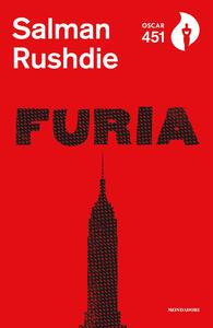 Furia - Salman Rushdie - copertina
