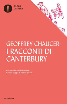 I racconti di Canterbury - Geoffrey Chaucer - copertina