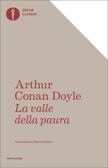 La valle della paura - Arthur Conan Doyle - copertina