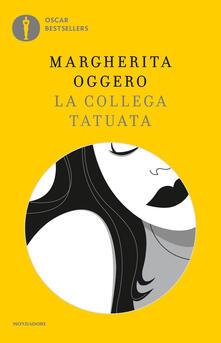 La collega tatuata - Margherita Oggero - copertina
