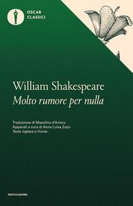 Molto rumore per nulla - William Shakespeare - copertina
